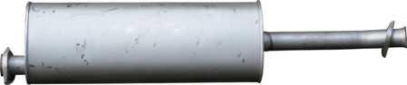 глушитель газель камминз евро-3 cummins isf 2.8 3221-1201008-50