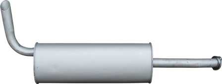 глушитель газель евро-4 стандартная база умз-4216 камминз cummins isf 2.8