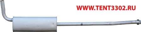 глушитель газель бизнес 330202 евро-3 удлинённая база двигатель умз-4216