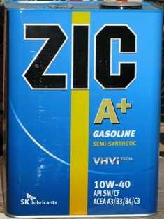 моторное масло zic 10w40