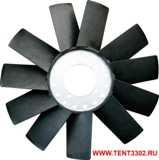 крыльчатка вентилятора газель бизнес 11 лопастей камминз 2.8