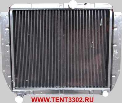 радиатор зил 130 двухрядный медный цена
