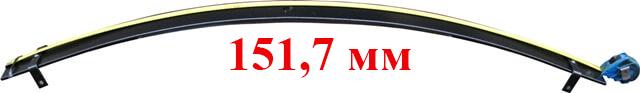 длинна листа рессоры газель размеры