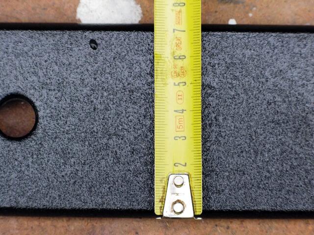 ширина рессоры газель размеры